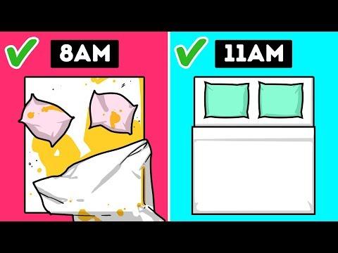 Frases sabias - 9 Cosas que haces mal en la mañana