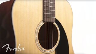 Fender CD-140SCE All Mahogany Video