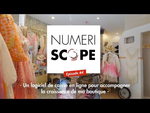 Numériscope #4 Un logiciel de caisse en ligne pour accompagner la croissance de sa boutique