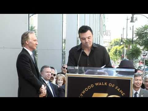 Bill Maher Walk of Fame Ceremony