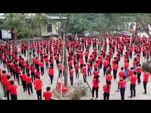 Trường THCS Đỉnh Bàn tổ chức hoạt động trải nghiệm sáng tạo cho các em hs...