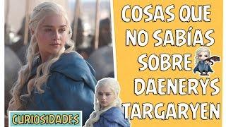 Datos, Curiosidades, Historia y misterios de Daenerys Targaryen. Targaryen. Madre de dragones y toda su información. Posible Spoiler para los que no están ...