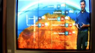 Weather details including Cyclone Debbie on 27.3.2017 ABC-24