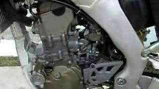 7. 2007 CRF250X IDLE