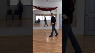 Swing classes in Reno. West Coast Swing using 3 toe base correctly
