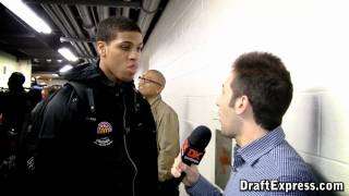 Wayne Blackshear - 2011 McDonald's All-American Game (Interview)