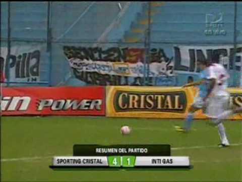 Sporting Cristal 4-1 Inti Gas (17/07/2010) - Descentralizado 2010 / JORNADA 24