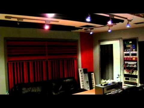 Velvet City recording studio in Springfield Missouri USA, tour by Brandon Mashburn