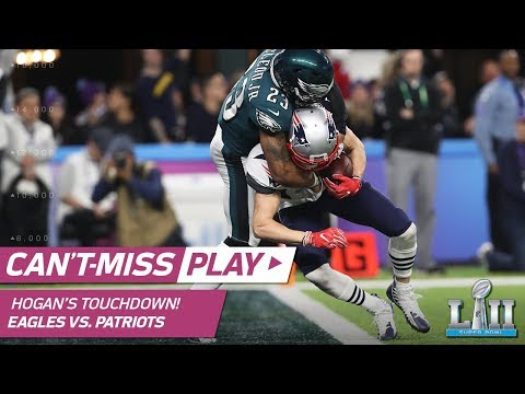 Video: Tom Brady Fires a TD to Chris Hogan to Cut Philly's Lead! | Eagles vs. Patriots | Super Bowl LII