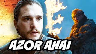 Game Of Thrones Season 7 Azor Ahai and Lightbringer Trailer Scene Explained. Jon Snow Prophecy, Beric vs White Walkers, ...