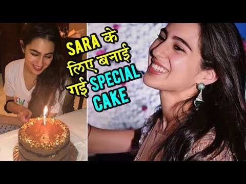 Saif Ali Khan's Daughter Sara Ali Khan Cutting Her