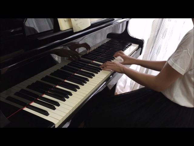 「プレ・インベンション51番」 をピアノで弾いてみた♪