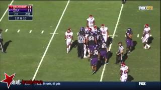 Charles Tapper vs Texas Christian (2014)