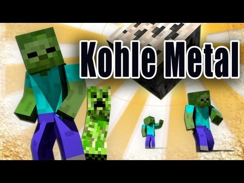 Rahmschnitzel feat. Gronkh - Kohle Metal (Minecraft, English translation in the description)