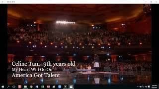 Video BIKIN MERINDING!!! SUARA ANAK 9 TAHUN MENYANYIKAN LAGU CELINE DION DI AMERICA'S GOT TALENT MP3, 3GP, MP4, WEBM, AVI, FLV November 2018