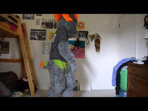 Kiken Fursuit Introduction (видео)