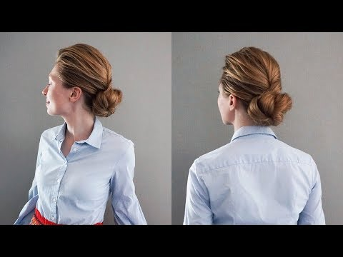 Hairdresser - Classic Updo with a Twist  Hair by Hannah