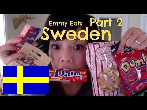 SWEDEN - All the way from Scandinavia, tasting more Swedish sweets kindly sent to me from viewer Mr. L. Chocolates, cookies, and salty licorice, oh my. New videos eve...