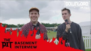 Basement Interview from Download Festival 2017