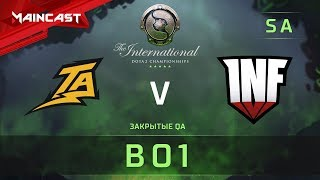 Thunder Predator vs Infamous, The International 2018, Закрытые квалификации   Южная Америка