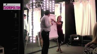 Как проходят занятия Инны Гуляевой в Академии Космо — Гуляева И.В. — видео