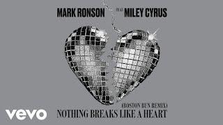 Mark Ronson - Nothing Breaks Like a Heart (Boston Bun Remix) [Audio] ft. Miley Cyrus