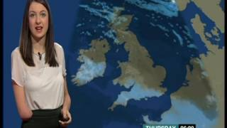 Gorgeous weather girl who is a little bit different