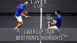 Video Laver Cup 2018 Best Points/Highlights (HD) MP3, 3GP, MP4, WEBM, AVI, FLV September 2018
