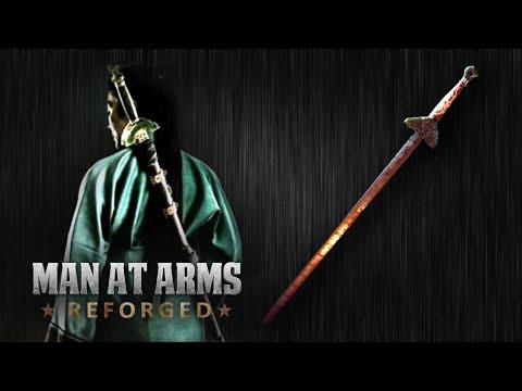 Master Blacksmiths Recreate the Green Destiny Sword From Crouching Tiger Hidden
