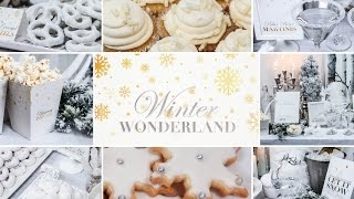 Winter Wonderland Party | Holiday Entertaining Ideas by The Domestic Geek