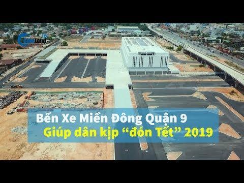 BẾN XE MIỀN ĐÔNG Lớn khủng nhất cả Nước chờ ngày Khánh Thành đón Tết 2019