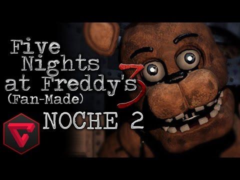 At - Segunda noche de este juego tan tan chulo basado en FNAF, hoy las cosas se van a complicar un poco más, y tenemos que acostumbrarnos a ello, Freddy ha decidido empezar a moverse, ...