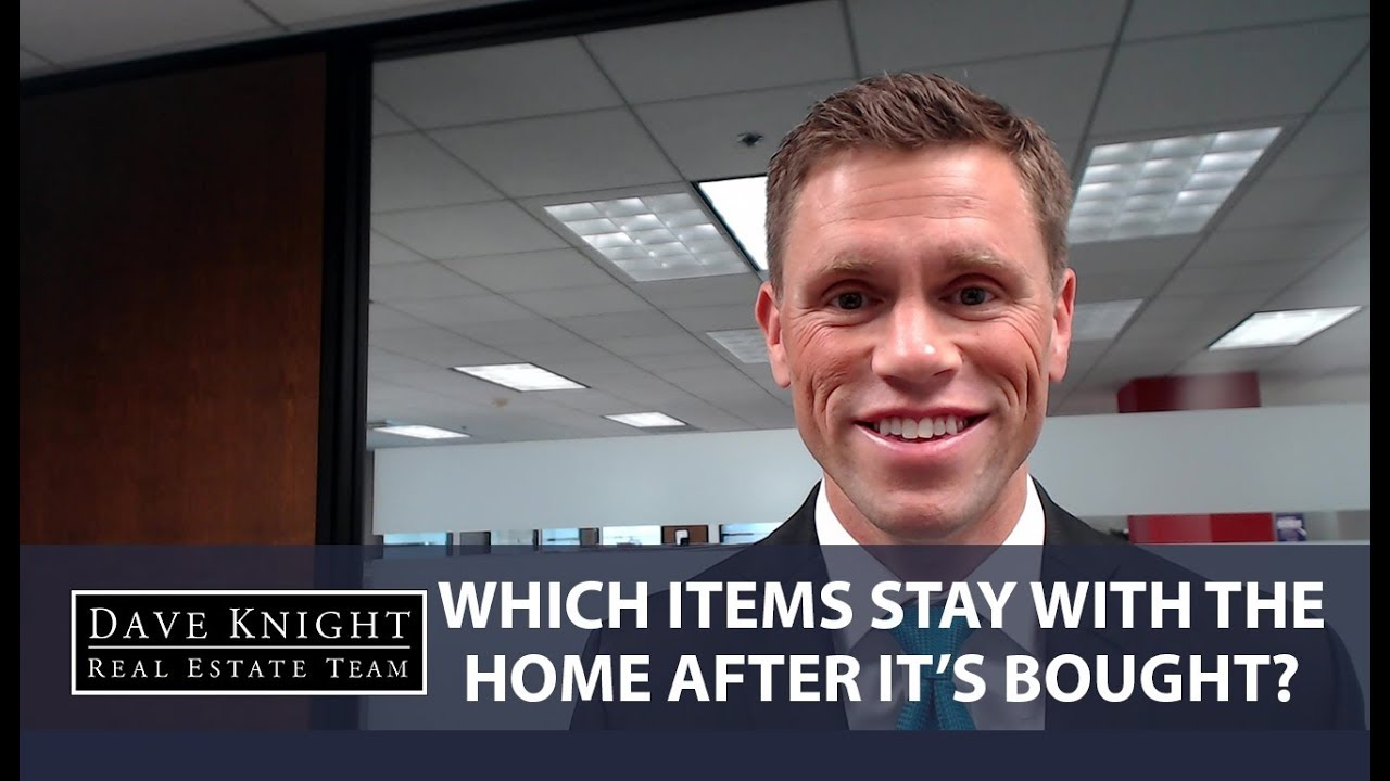 Which Household Items Are Included in a Home Sale?