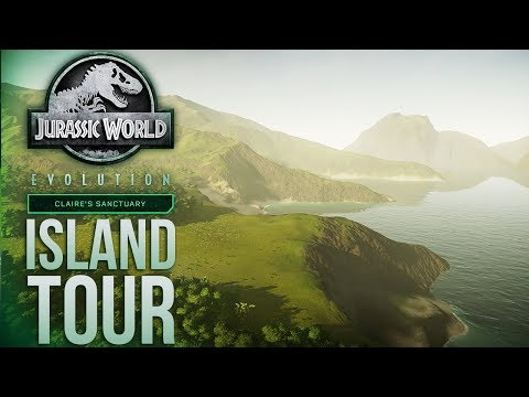 Tour Of SANCTUARY And NUBLAR NORTH | Jurassic World: Evolution Claire's Sanctuary
