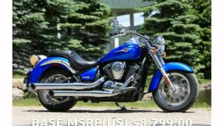 4. 2009 Kawasaki Vulcan 900 Classic  Engine motorbike