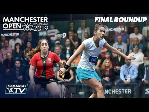 Squash: Manchester Open 2019 - Evans v King - Final Roundup