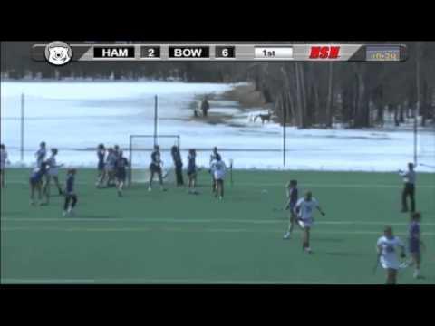 Women's Lacrosse vs. Hamilton (3/15/14)