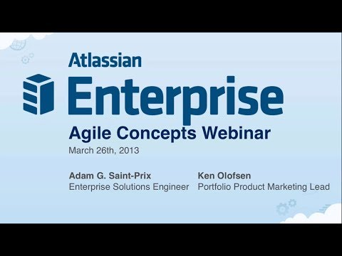 Atlassian Enterprise Workshop – Agile Concepts