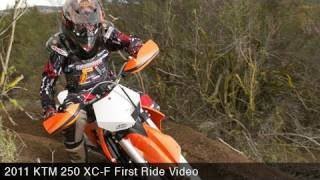 5. MotoUSA First Ride:  2011 KTM 250 XC-F