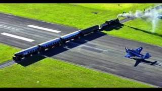 Gisborne New Zealand  City new picture : New Zealand - Gisborne Airport - Runway With a Railway Crossing