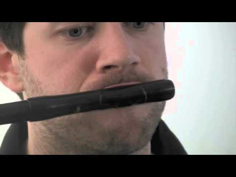 Adult learning fife embouchure exercises
