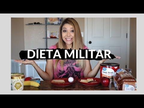 Dieta para bajar de peso - Dieta militar - Baja hasta 5 kilos en 3 días