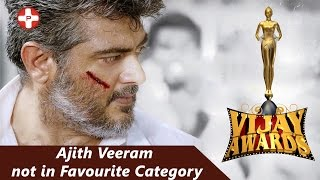 9th Vijay Awards: Ajith's Veeram not in favorite category