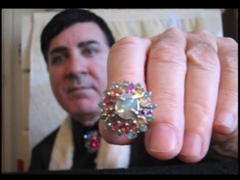 Male ASMR soft spoken designer jewelry sales roleplay
