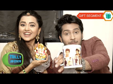 Video Exclusive: Tejaswi And Namish Taneja Receive Gifts From Fans | Gift Segment download in MP3, 3GP, MP4, WEBM, AVI, FLV January 2017