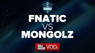 Mongolz vs Fnatic, game 1