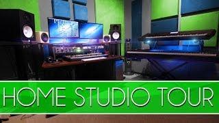 Studio Tour - How To Build A Home Studio