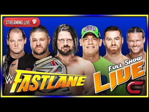 WWE Fastlane 2018 Live Stream Full Show March 11th 2018 Live Reactions