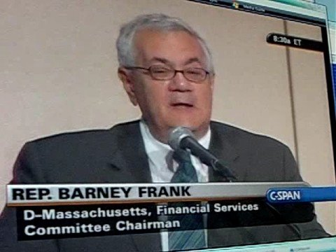 Barney Frank Explains the Subprime Meltdown pt2