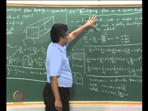 Mod-02 Lec-07 Gleichungen, die Strömung inkompressibler Strömung;